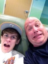 trey and Jay st. jude